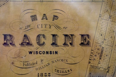 Click to download high resolution a 1855 Historic Map of Racine. Warning 455 MB file.